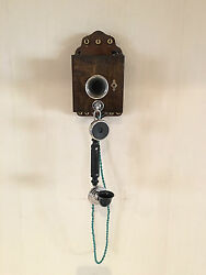 Early Rare Lm Ericsson Telephone Used On Telegraph Lines - Model Ab5100