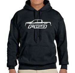 2015-17 Ford F150 F-150 Pickup Truck Classic Outline Design Hoodie FREE SHIP
