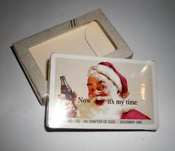 New Never Opened Coca Cola Md-dc-va December 1993 Coke Deck Of Playing Cards