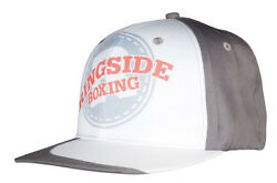 Ringside Baseball Ball Cap - Boxing Hat One Size Fits Most White/grey Osfm New