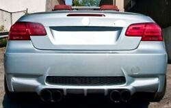 For Bmw E92 E93 3 Series Coupe Rear Boot Trunk Spoiler Lip Wing Trim Lid M3 M