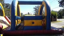 40ft. Commercial Inflatable Obstacle Course 2 Pieces