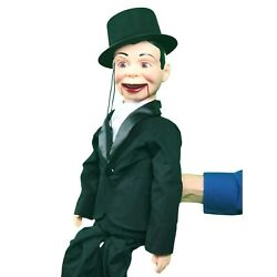 Charlie Mccarthy Standard Upgrade Ventriloquist Dummy Throwthings Quality