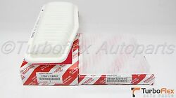 Toyota Rav4 4cyl. 2.0l 2.4l 2001-2005 Genuine Air And Cabin Filter 17801-yzz07