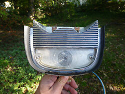 1958 Cadillac Guide Turn Signal Light F5-58 Lens And Housing Assembly