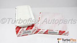 Toyota Echo 00-05 Scion Xa Xb 04-06 Genuine Air And Cabin Filter Kit 17801-yzz08