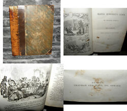 Master Humphrey's Clock - Charles Dickens - 1840 Volume 1 - Chapman And Hall. HB