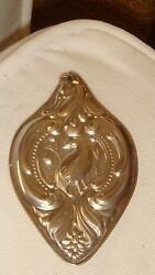Wallace Sterling Silver 1988 Partridge In A Pear Tree Christmas Ornament 1st Ed