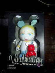 Disney Vinylmation 9 Urban 6 Angel And Devil Le 1000 Sold Out Rare Htf
