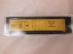 N Scale Postage Stamp Trains/aurora Fruit Growers Express 50' Mechanical Reefer