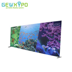 20ft*8ft Square Corners Pop Up Banner Tension Fabric Wall With One Side Printing