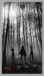 The Walking Dead Jc Richard The Rescue Poster 21x36 Numbered /225