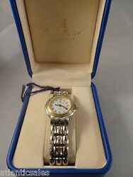 Jean Marcel 18K Gold Stainless Steel Band Automatic Ladies Watch 461.132  NEW