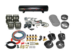 1960-64 Cadillac Coupe Deville Complete Fbss Air Ride Suspension Kit Bags, Valve