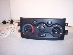 2004 CHEVROLET AVEO MANUAL AC AC HEATER CLIMATE CONTROL WITH CABLES  07K090