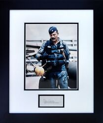 Gen. Robin Olds In His Flight Suit W/ Autograph - Aviation Collectibles And Gifts