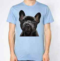 French Bulldog T-Shirt Dog Animal Lover Graphic Design Black Puppy Swag Dope Top