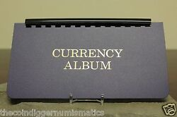 3 Whitman Large Currency Holder Album Removable 10 Page Banknote Storage Book