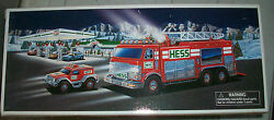2005 Hess Emergency Truck With Rescue Vehicle Brand New In Box