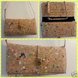 Cork Accessories: Handbags Clutches and Wallets $39.98
