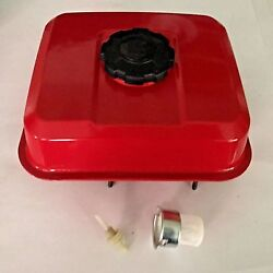 Red Fuel Tank Kit With Cap Strainer And Joint Filter For Honda Gx140 Gx160 Gx200