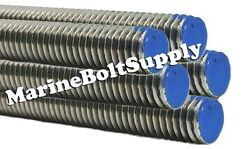 Type 18-8 Stainless Steel Threaded Rod / Stainless All Thread 3 Foot Sections