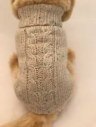 Small dog warm wool sweater. pet clothes winter apparel puppy