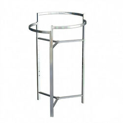 Tri-level Round Garment Rack Chrome Height Adjustable From 44 -68 4sets/buy