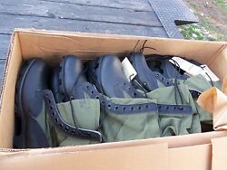 12 Pairs ....size 12.5 Xn Extra Narrow Jungle Boots Military Surplus Army Lot