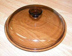 Replacement Lid Genuine Pyrex A B Amber Glass Lid For Sauce Pan Read