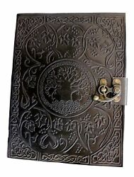 Handmadecraft Large Tree of Life Leather Journal Diary Notebook for Writing L...