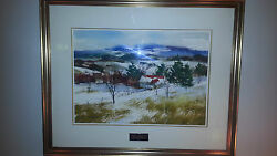 Original Painting By Pierre Tougas Canadian Artist Quebec Made In 1991 29x24