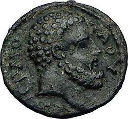 Hypaepa Lydia Roman Emperor Commodus Time Hercules Asclepius Greek Coin I58629
