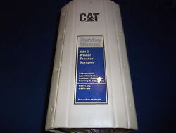 Cat Caterpillar 621g Wheel Tractor Scraper Service Shop Repair Book Manual