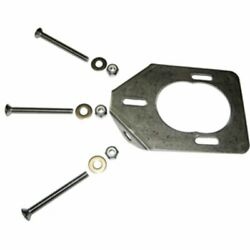 Leeand039s Rod Holder Backing Plate And Hardware - Fits All Leeand039s Large And Swivel