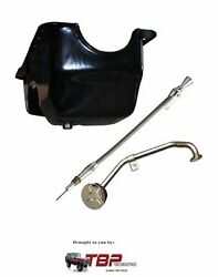 1966-1977 Early Ford Bronco Oil Pan Kit Dual Sump New 289/302 V-8 Engine