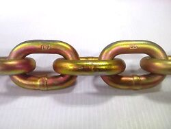 75and039 5/8 Chain - Grade 70 Transport Chain - Made In Usa. Half Drum