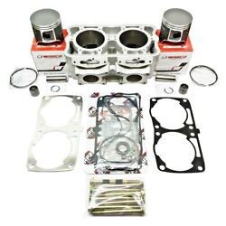 Polaris 800 Cfi 2008-2009 Cylinder Top End Gaskets Wiseco Fix Kit Spacer 3021843