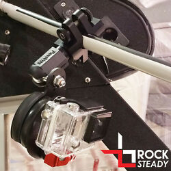 Flight Flix Gopro And Virb X/xe Rock Steady Vibex Mount - Clamp Base With Dovetail