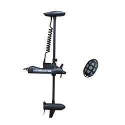 Haswing 12v 55lbs 54 Shaft Bow Mount Electric Trolling Motor Black For Fishing