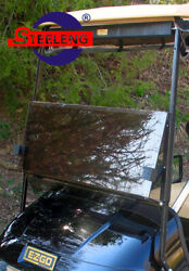 Foldable Tinted Windshield For Ezgo Txt Golf Cart 1994-2013