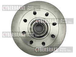 Front Brake Rotor Pair Of 2 Fits 01-02 Chevrolet Express 3500