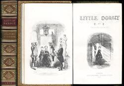Little Dorrit Charles Dickens First Book Edition Fine Signed-binding 1857