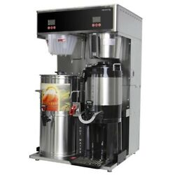 Newco 784875 Dtvt Dual Combo Coffee And Tea Brewer W/ Dispensers New