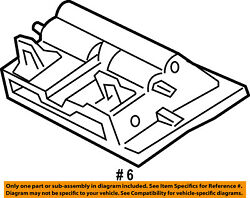 FORD OEM Dash-Air Vent Outlet Chamber Assy 5L2Z18471AA