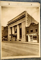 1927 Cabinet Photo 6 View Lot Pittsburgh Pa Iron And Glass Dollar Bank Inside/out