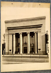 1930s Cabinet Photo 9 View Lot Squirrel Hill Pa Peoples Trust Bank Inside/out