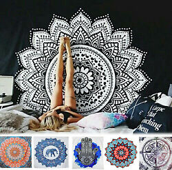 Indian Ethnic Dorm Decor Wall Hanging Hippie Mandala Tapestry Bohemian USA STOCK