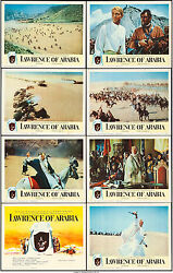 Movie Posters 8 Lobby Cards Lawrence Of Arabia 1962 27x41 Vf 8 Peter Oand039toole