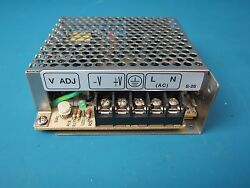 MEANWELL S-25-12 12VDC 2.1AMP SWITCHING POWER SUPPLY